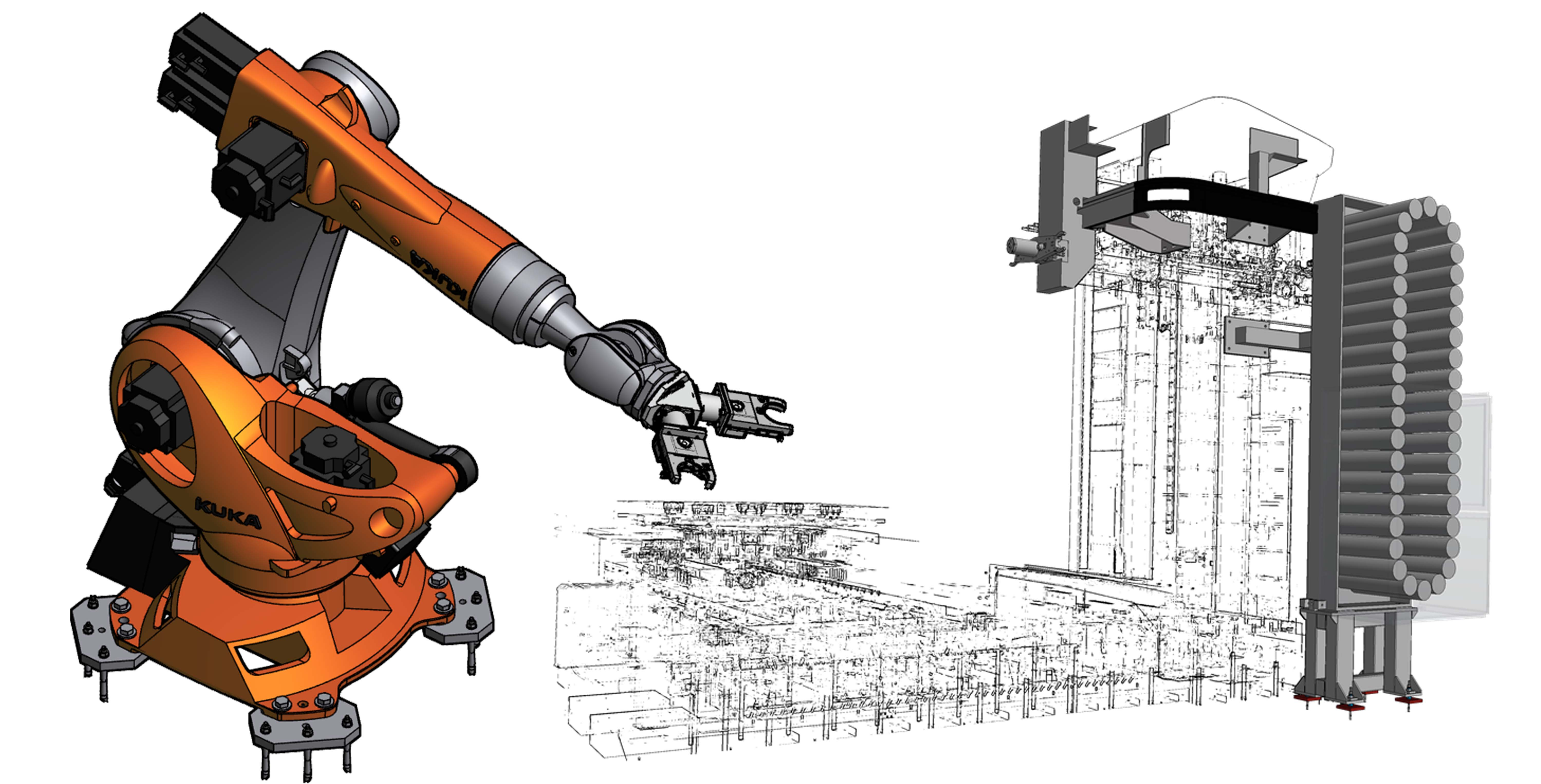 Automatic Changing Systems of Tools and Heads - Image