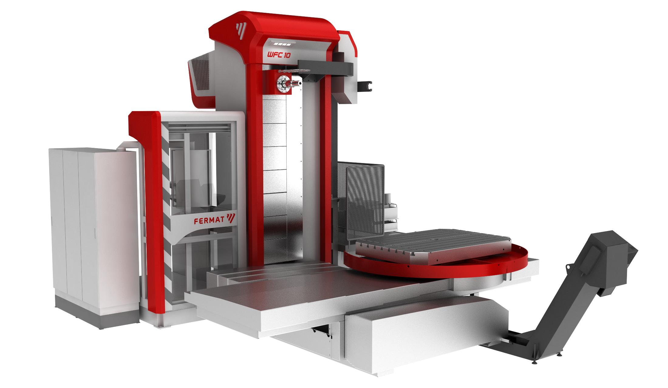 WFC 10 - horizontal table-type boring mill - Image